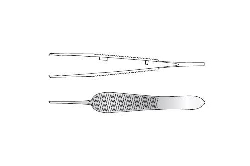ST MARTINS CORNEAL SUTURING FORCEPS